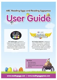 reading eggs/eggspress user guide