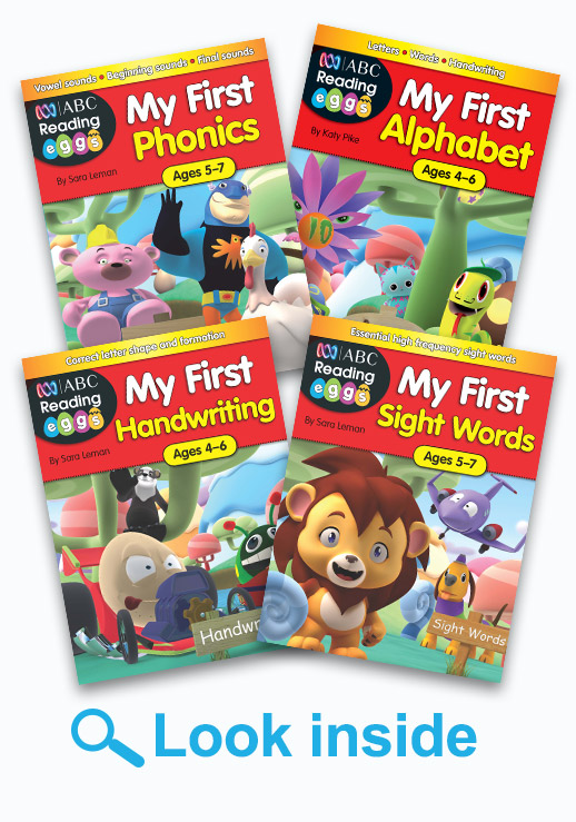 ABC Reading Eggs Get Reading Ready Book Pack