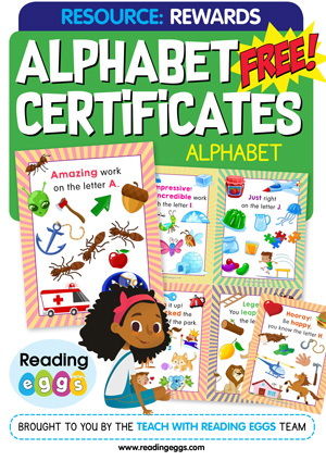 free homeschool resources for alphabet