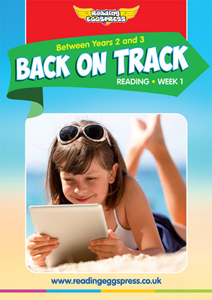 summer reading catch-up Week 1 for Year 2 to Year 3