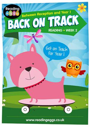 summer reading catch-up Week 2 for kindergarten to Year 1