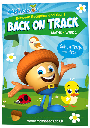 summer mathematics catch-up Week 3 for kindergarten to Year 1
