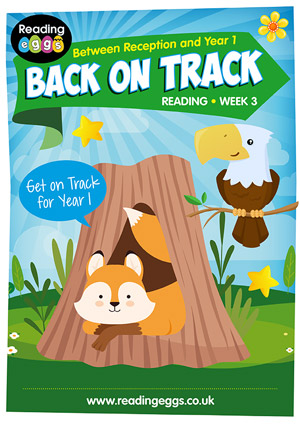 summer reading catch-up Week 3 for kindergarten to Year 1