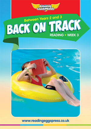summer reading catch-up Week 3 for Year 2 to Year 3