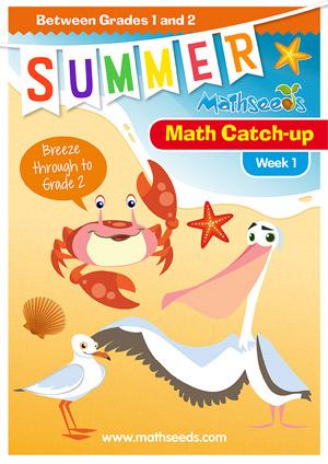 summer mathematics catch-up Week 1 for grade 1 to grade 2