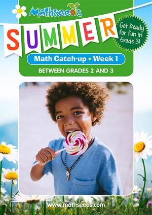 summer mathematics catch-up Week 1 for grade 2 to grade 3