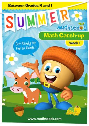 summer mathematics catch-up Week 1 for kindergarten to grade 1