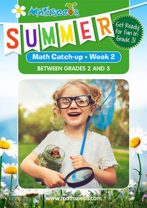 summer mathematics catch-up Week 2 for grade 2 to grade 3