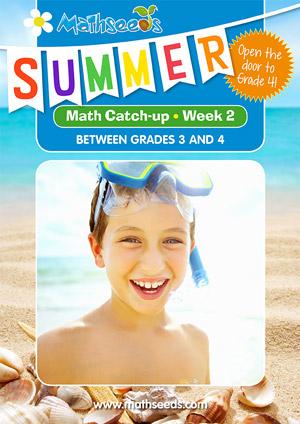 summer mathematics catch-up Week 2 for grade 3 to grade 4