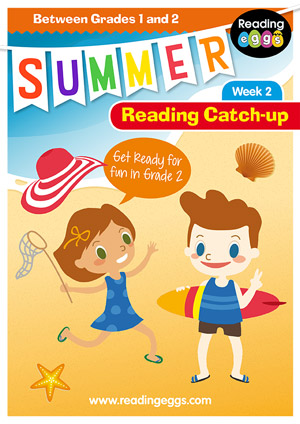 summer reading catch-up Week 2 for grade 1 to grade 2