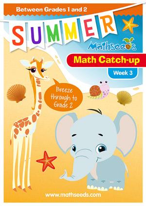 summer mathematics catch-up Week 2 for grade 1 to grade 2