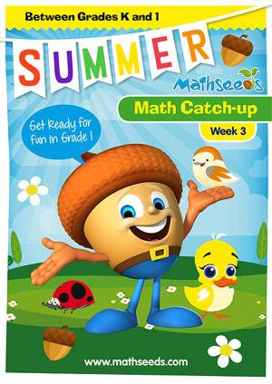 summer mathematics catch-up Week 2 for kindergarten to grade 1