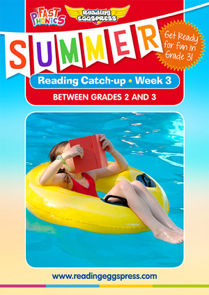 summer reading catch-up Week 2 for grade 2 to grade 3