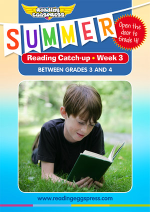 summer reading catch-up Week 2 for grade 3 to grade 4