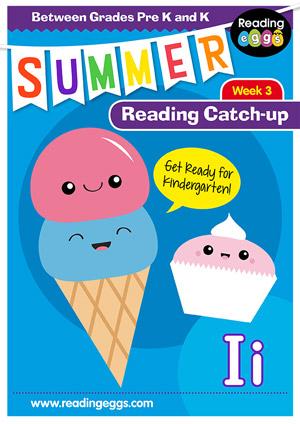 summer reading catch-up Week 2 for pre kindergarten